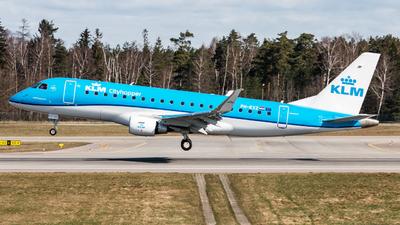 A picture of PHEXZ - Embraer E175STD - KLM - © Mikolaj Wlodarski