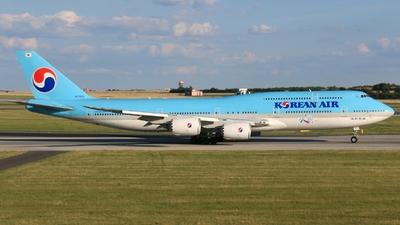 HL7633 - Boeing 747-8B5 - Korean Air