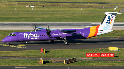 A picture of GPRPM - De Havilland Canada Dash 8400 - Flybe - © Stefan Bayer