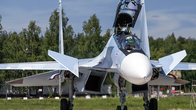 RF-91815 - Sukhoi Su-30SM - Russia - Air Force