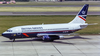 G-BKYM - Boeing 737-236(Adv) - British Airways