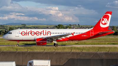 D-ABZA - Airbus A320-216 - Air Berlin