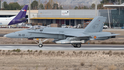 C.15-26 - McDonnell Douglas EF-18A+ Hornet - Spain - Air Force