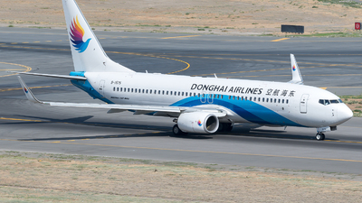 A picture of B1575 - Boeing 73783Z - Donghai Airlines - © zhangmx969