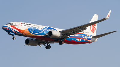 A picture of B5422 - Boeing 73789L - Air China - © Li Youyang