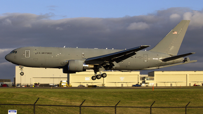 A picture of N842BA - Boeing KC46A Pegasus - Boeing - © Chasen Richardson