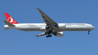 A picture of TCLJK - Boeing 7773F2(ER) - Turkish Airlines - © ikeharel