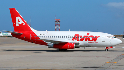 A picture of YV3151 - Boeing 7372T5(A) - Avior Airlines - © Racso Smet