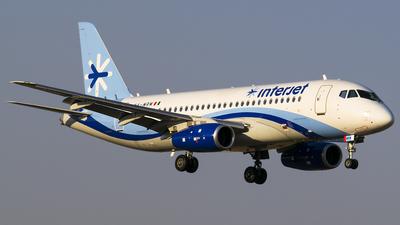 XA-MRM - Sukhoi Superjet 100-95B - Interjet