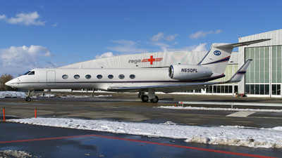 N650PL - Gulfstream G550 - Private