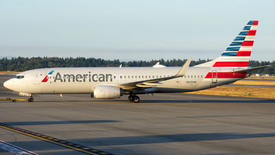 A picture of N935NN - Boeing 737823 - American Airlines - © Michael Rodeback