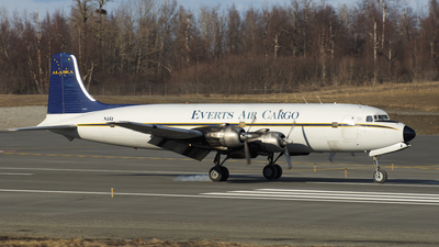 N151 - Douglas DC-6B(F) - Everts Air Cargo