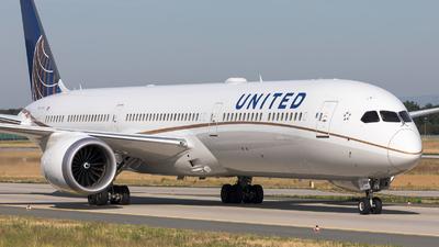 N17002 - Boeing 787-10 Dreamliner - United Airlines