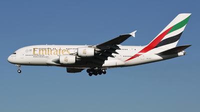 A6-EUT - Airbus A380-842 - Emirates