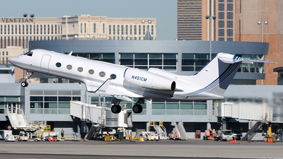 N451CM - Gulfstream G450 - Private