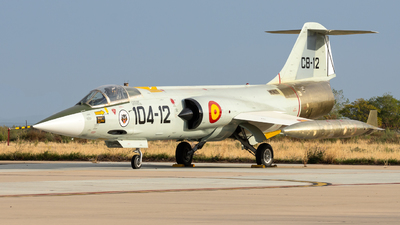 C.8-12 - Lockheed F-104G Starfighter - Spain - Air Force