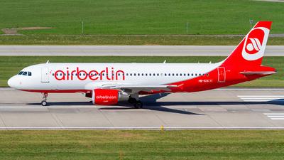 HB-IOS - Airbus A320-214 - Air Berlin (Belair Airlines)