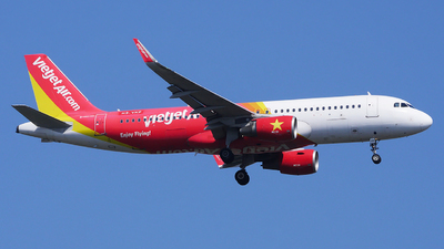 A picture of HSVKP - Airbus A320214 - VietJet Air - © Woody Wuthiwong