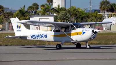 N996WW - Cessna 172R Skyhawk - Wayman Aviation