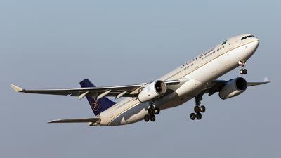 HZ-AQ24 - Airbus A330-343 - Saudi Arabian Airlines