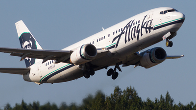N795AS - Boeing 737-490 - Alaska Airlines