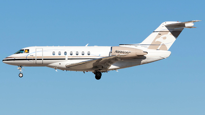 N860AP - Hawker Beechcraft 4000 - Private