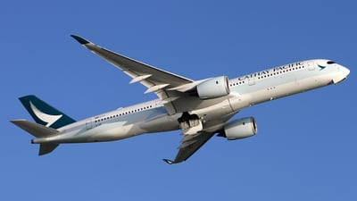 B-LRE - Airbus A350-941 - Cathay Pacific Airways