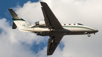 XA-YCC - Hawker Beechcraft 400XP - Private