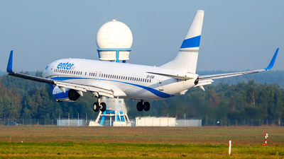 SP-ENR - Boeing 737-8Q8 - Enter Air