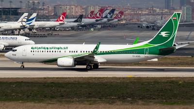 YI-ASG - Boeing 737-81Z - Iraqi Airways