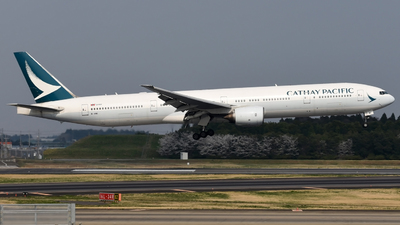 B-HNI - Boeing 777-367 - Cathay Pacific Airways