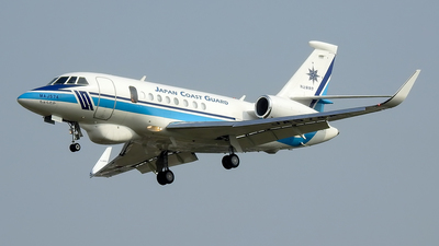 JA574A - Dassault Falcon 2000MSA - Japan - Coast Guard