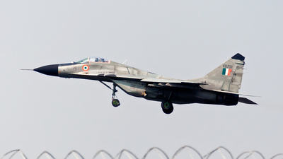 KB708 - Mikoyan-Gurevich MiG-29B Fulcrum - India - Air Force