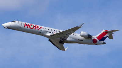 F-GRZG - Bombardier CRJ-701 - HOP! for Air France