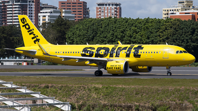 A picture of N907NK - Airbus A320271N - Spirit Airlines - © Brian Boche
