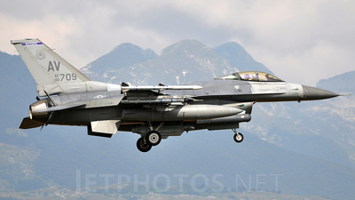 90-0709 - General Dynamics F-16C Fighting Falcon - United States - US Air Force (USAF)