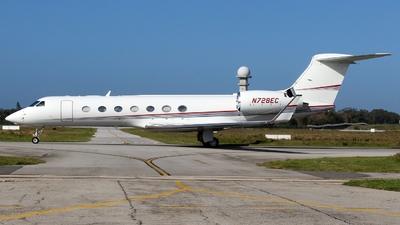N728EC - Gulfstream G550 - Private