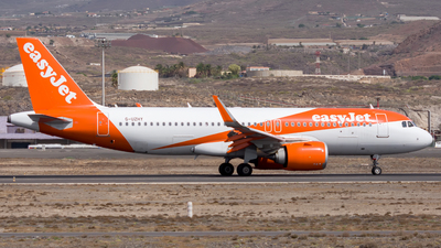 G-UZHY - Airbus A320-251N - easyJet