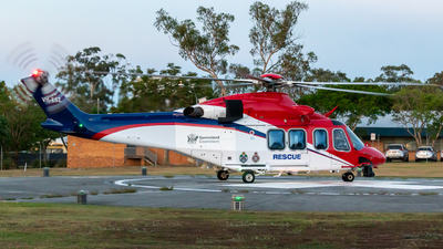 VH-ESZ - Agusta-Westland AW-139 - Australia - Queensland Government