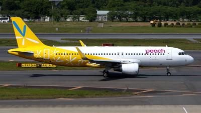 A picture of JA08VA - Airbus A320214 - Peach - © kouyagi