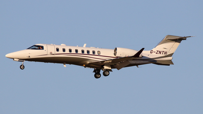 G-ZNTH - Bombardier Learjet 75 - Private