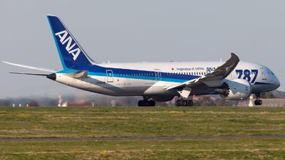 JA823A - Boeing 787-8 Dreamliner - All Nippon Airways (ANA)