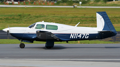 N1147G - Mooney M20K - Private