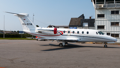 YU-BTM - Cessna 650 Citation VII - Pelikan Airways