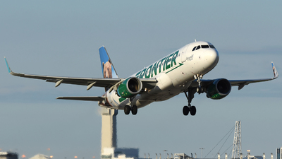 N227FR - Airbus A320-214 - Frontier Airlines