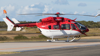 A picture of VHSYB - Airbus Helicopters H145 - CHC Helicopters Australia - © Tony Coles