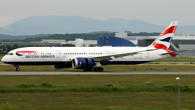 G-ZBKB - Boeing 787-9 Dreamliner - British Airways