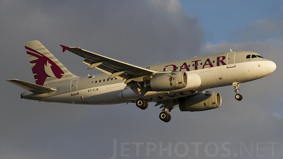 A7-CJA - Airbus A319-133(LR) - Qatar Airways