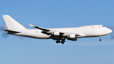 A picture of N713CK - Boeing 7474B5(F) - Kalitta Air - © Matteo Lamberts