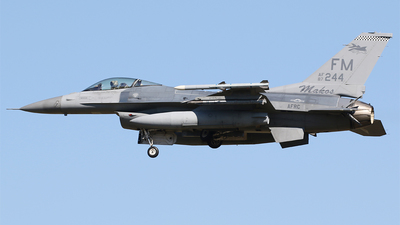 87-0244 - General Dynamics F-16C Fighting Falcon - United States - US Air Force (USAF)
